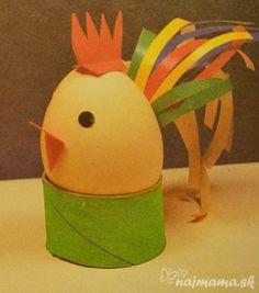kohout z vajíčka