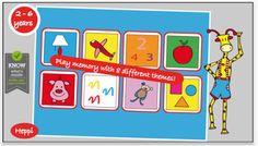 App para niños La jirafa Bo