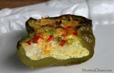 Omelet cut in half