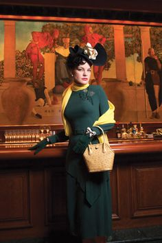 Paley's Comet: NCIS' Pauley Perrette channels the famed socialite & fashion icon, Babe Paley. Photographed by Patrick Demarchelier for Watch! Magazine.