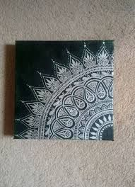 Image result for puffy paint henna on canvas