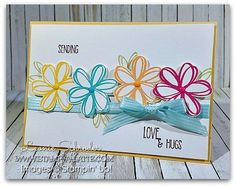 Sunshine Sayings | Stamp A Latte - Stampin Up! with Leonie Schroder | Bloglovin'
