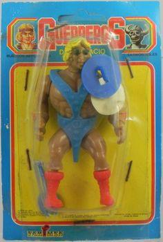 Guerreros Del Espacio Horseman Spain MOTU Bootleg Masters Universe RARE He Man | eBay