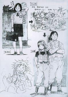 Focus On - Tatsuyuki Tanaka Art Manga, Anime Art, Pretty Art, Cute Art, Art And Illustration, Character Concept, Character Art, Art Du Croquis, Art Mignon