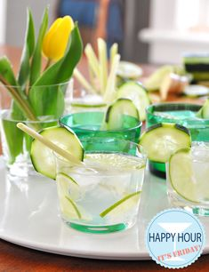 Get ready for summer with this cheeky little cocktail, the spring breeze (lemongrass simple syrup, cucumber vodka, lime, sparkling water and lots of ice)