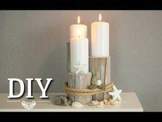 DIY: Centerpiece für maritime Tischdeko oder Hochzeitsdeko | Deko Kitchen - YouTube