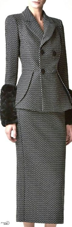 Trendy suit - fine picture