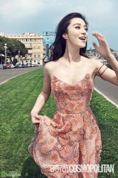 Fan Bing Bing- look at the details of that dress! Amazing! #gorg #fashion #couture