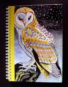 KCA30  - DinA5 Ringbuch-Kalender 2016 von Atelier U.B. tierisch-gelungen auf DaWanda.com
