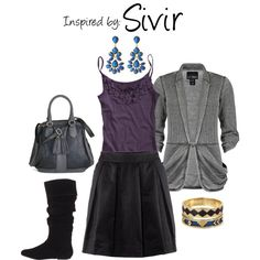 Sivir (League of Legends), created by ladysnip3r on Polyvore