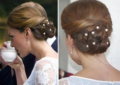 kate middleton updo - Google Search