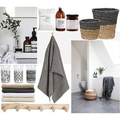 """""""Natural bathroom"""" by sofiehoff on Polyvore"""