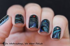 Galaxy Water Marble