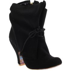 IRREGULAR CHOICE:Marshmallow Mountain in Black | JoliWorld