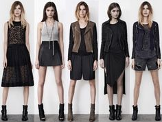 INSPIRATION: ALL SAINTS LOOKBOOK | My Daily Style en stylelovely.com