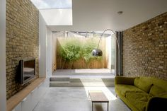 Digging down adds drama! Stunning extension connected with small garden. CLICK http://www.hollandgreen.co.uk/house_extensions#.U_L9sPldU7k to see if you could do something similar.