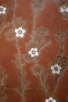 Japanese Kimono Stencil (Katagami), large, antique - Cherry Blossoms