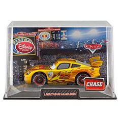Disney Lightning McQueen Die Cast Car - Cars 2 Gold  - Chase Edition | Disney StoreLightning McQueen Die Cast Car - Cars 2 Gold  - Chase Edition - Your little racer will enjoy golden years of fun with this Lightning McQueen Die Cast Car. This Chase Edition McQueen features a special gold paint scheme that will make it a precious addition to his Cars  collection.