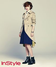 Han Hyo-joo // InStyle Korea // September 2013
