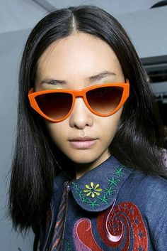Spring Summer 2016 Eyewear Trends: flashy sunglasses