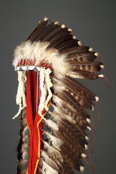 American Indian Eagle Feather Headdress  (North America)