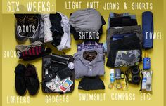 How to Pack Like a Pro: The Adventurer | Because life is an adventure and you'd never know what you'd need for a month-long trip. #DiyReady www.diyready.com