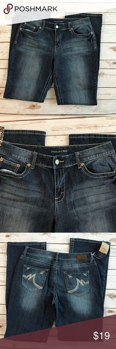 """Maurices Curvy Fit Jeans NWT Maurices curry fit jeans. 98% cotton 2% spandex. Inseam is app 34"""" long. Maurices Jeans"""