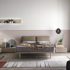 Lightweight looks and minimal design. The Piuma bed combines modern and timeless in such a smooth way, that fills the bedroom with a warm feeling of relaxation. Enjoy the plush, comfortable headboard after a long day at work. #milanode #furniture #bedroom #bed #kingsize #superkingsize #handmade #modern #elegant #timeless #unique #quality #design #decoration Long Day, Bedroom Bed, Minimal Design, King Size, Beds, Minimalism, Relax, Smooth, Couch