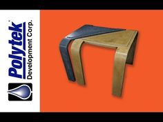 """Casting """"Warped"""" Concrete Tables in Rubber Molds - YouTube"""