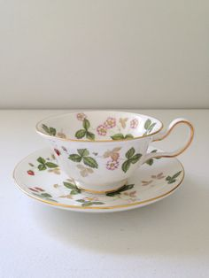 Vintage English Wedgwood Fine Bone China Wild by MariasFarmhouse
