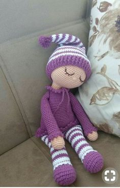 Mesmerizing Crochet an Amigurumi Rabbit Ideas. Lovely Crochet an Amigurumi Rabbit Ideas. Crochet Doll Pattern, Crochet Patterns Amigurumi, Baby Knitting Patterns, Amigurumi Doll, Doll Patterns, Cute Crochet, Crochet Crafts, Crochet Projects, Crochet Tutorials