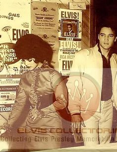 "Elvis and Cilla, California: Elvis was filming ""Kissin' Cousins""."