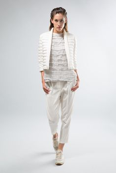 Brunello Cucinelli Spring 2015 Ready-to-Wear Fashion Show