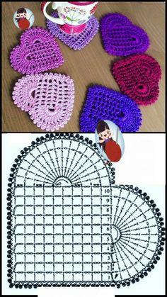 Crochet Squares, Crochet Motifs, Crochet Flower Patterns, Crochet Diagram, Crochet Flowers, Loom Patterns, Crochet Shawl, Diy Embroidery Flowers, Simple Embroidery
