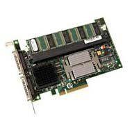 LSI LOGIC LSI00008 2CH U320 SCSI Raid 128MB Mem X8 Pci Express Support for Itbbu by LSI Logic. $373.00. LSI Logic MegaRAID Dual Channel SCSI 320-2E Controller - 128MB ECC SDRAM - 640MBps Peak - 2 x 68-pin HD - SCSI Internal, 2 x 68-pin VHDCI - SCSI External. Save 54%!