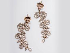 Elegant diamond earrings by Kwiat