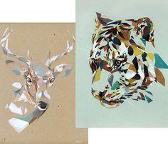 Tiger and Deer Prints Uncovet