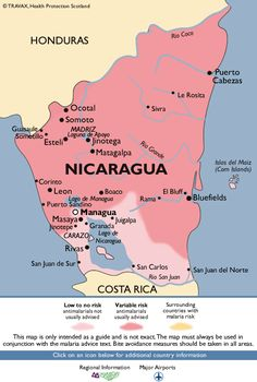Corn Islands Nicaragua Went To Both Of Them January - Central america caribbean physical map 2002