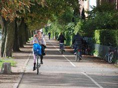 In Bike-Friendly Copenhagen, Highways For Cyclists