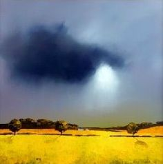 """"""" By Barry Hilton """" Love this. Watercolor Landscape, Landscape Art, Landscape Paintings, Watercolor Paintings, Wow Art, Contemporary Landscape, Art Techniques, Painting Inspiration, Amazing Art"""