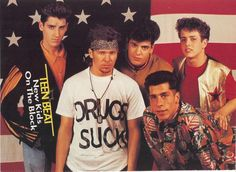 New Kids on the Block!!! OMG I was insane over them!!!! I LOVE JOEY FOREVER!!!!