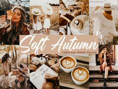 Soft Autumn, Camera Settings, Lightroom Presets, Mobile App, Color Schemes, Place Card Holders, Pictures, Instagram, R Color Palette