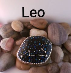 The Original Hand Made Rock Art or Texas by OriginalRockArt Constellation Art, Astrology Stars, Dotting Tool, Zodiac Constellations, Using Acrylic Paint, Leo Zodiac, Rock Art, Painted Rocks, Horoscope