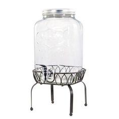 Mason Jar Getränkespender mit Ständer