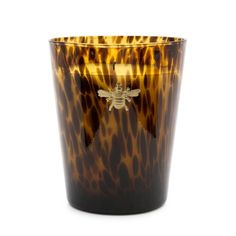 Royal Extract Candle in Tortoise Glass