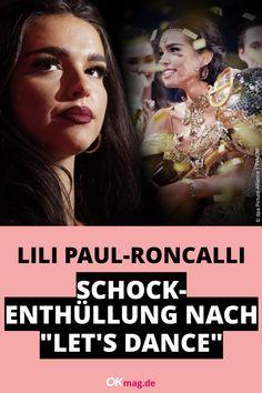 """Zwei Monate ist es her, dass Lili Paul-Roncalli die RTL-Tanzshow """"Let's Dance"""" gewonnen hat. Nun meldete sich die Artistin mit einer schockierende Beichte zu Wort … #lilipaulroncalli #letsdance #rtl #tanzen #okmag"""
