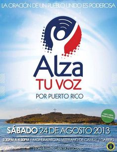 Alza tu Voz por PuertoRico @ Camuy #sondeaquipr #alzatuvoz #camuy #puertorico #monumentoalveterano