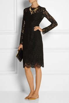 Dolce & Gabbana|Lace dress|NET-A-PORTER.COM