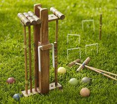 Croquet Set #potterybarn