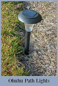 Hibiscus House: Ohuhu Garden Path Lights: Product Review